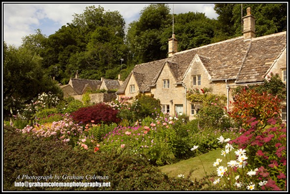 Cottages at Bibury the Cotswold Village