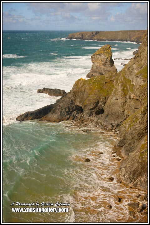 The Cornish Coast, Bendruthen Steps